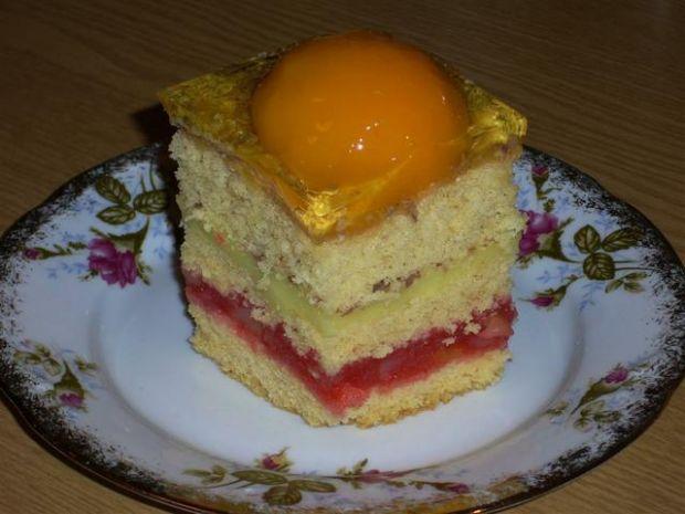 Przepis  ciasto owocowo  budyniowe przepis