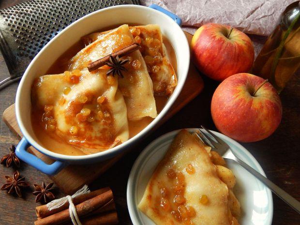 Przepis  jabłkowe crepe suzette przepis