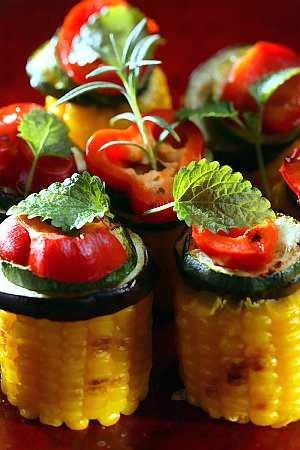 Warzywa w ziołach  prosty przepis i składniki