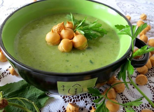 Pikantna zupa krem z sałaty