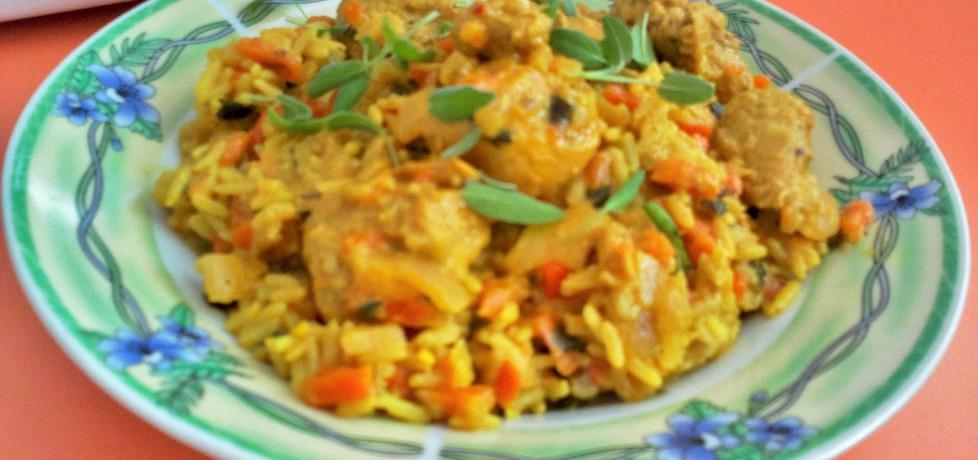 Kurczak w sosie curry z kokosową nutą (autor: futka ...