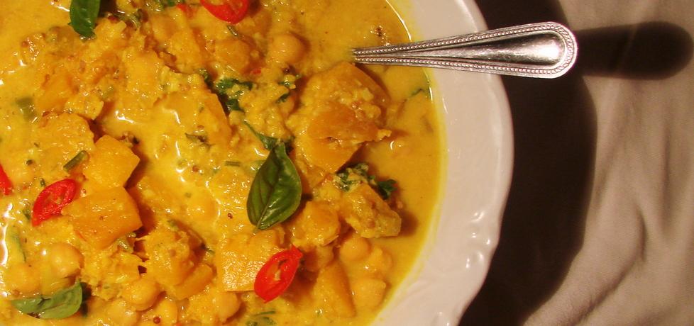 Curry z dynią i ciecierzycą (autor: iwka)