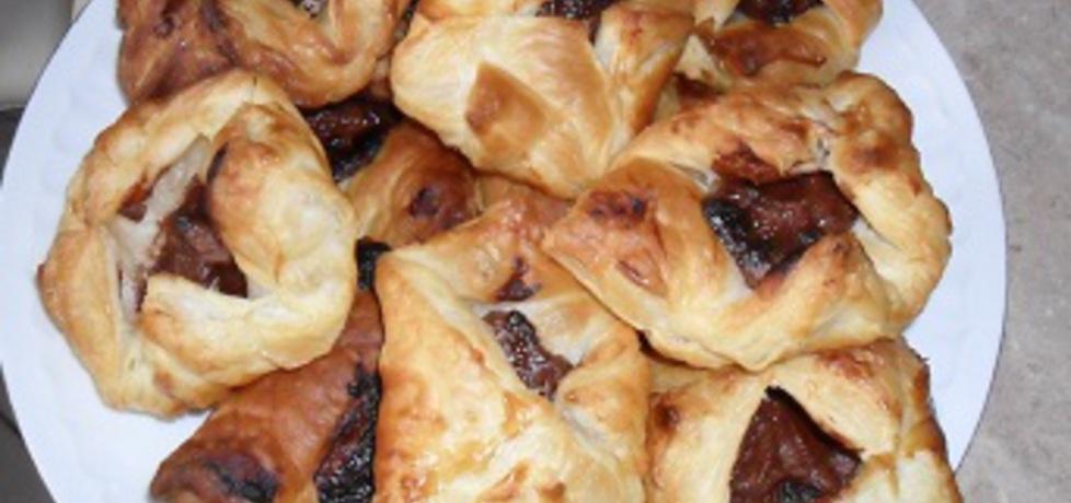 Francuskie ciasteczka z czekoladą (autor: motorek ...