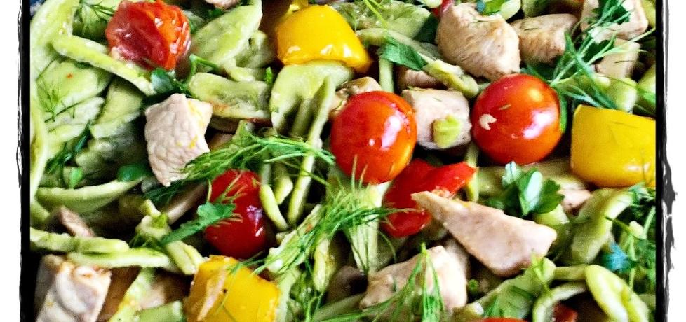 Makaron z kurczakiem i warzywami zewy (autor: zewa ...