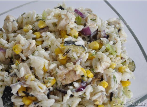 Sałatka ryżowa