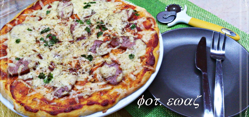 Pizza na cienkim cieście (autor: zewa)