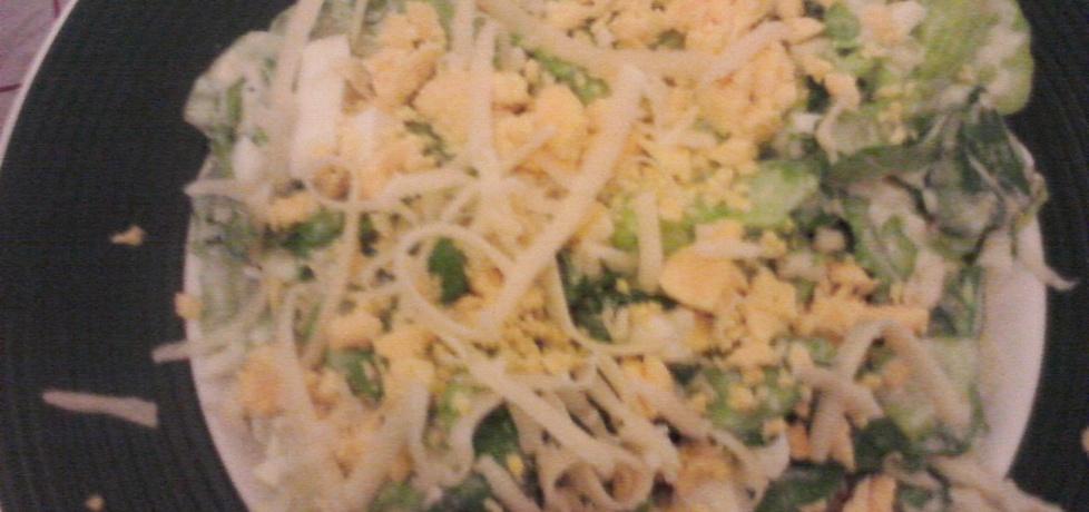 Zielona sałata na ciepło (autor: patrycja38)
