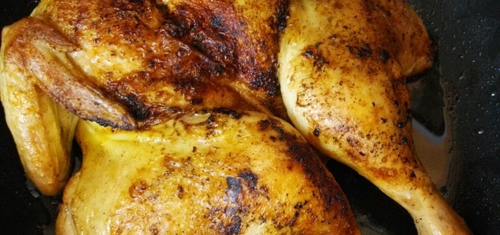 Kurczak pieczony na płasko (autor: habibi)