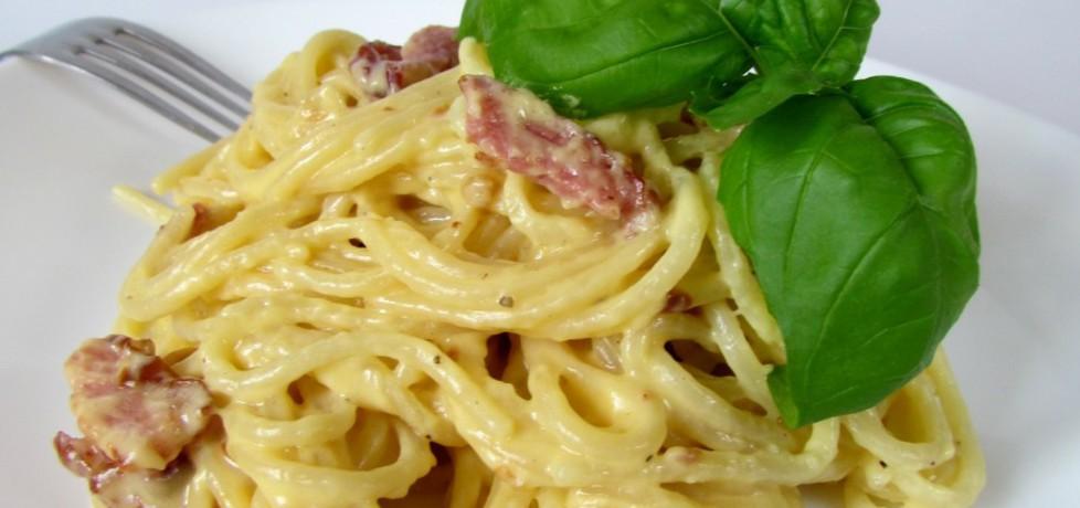 Spaghetti carbonara (autor: rosik93)