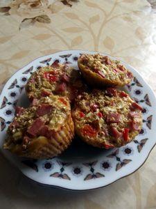 Muffiny owsiane na ostro