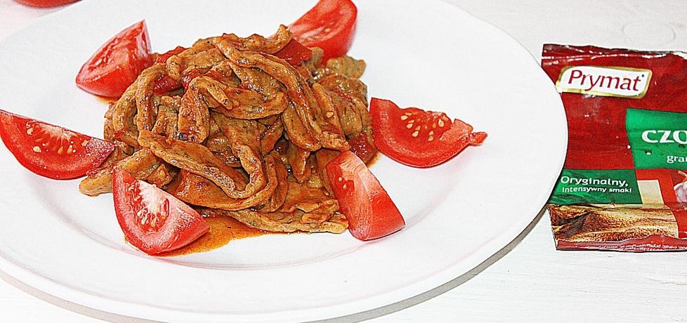 Makaron domowy ze szpinakiem (autor: smakolykijoanny ...