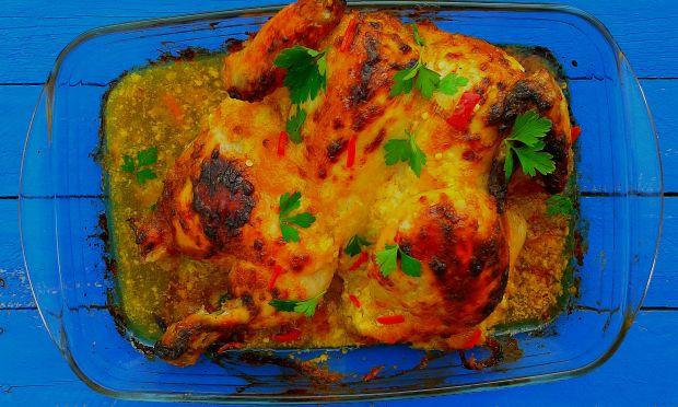 Przepis  kurczak w marynacie majonezowo