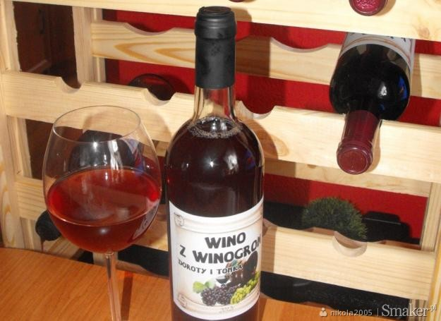 Wino z winogron 20 l.