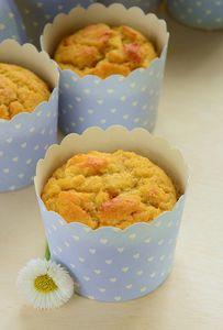 Muffinki z kaszą kukurydzianą i jabłkami bezglutenowe ...