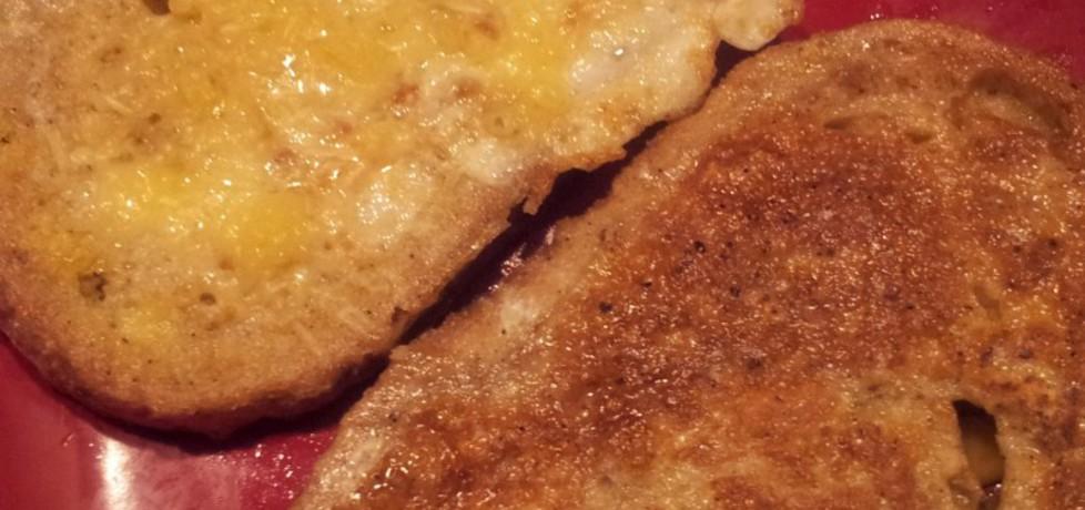 Chleb w jajku z czosnkiem (autor: krokus)