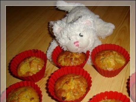 Przepis  muffiny cynamonowe kiwi z pomarańczą przepis