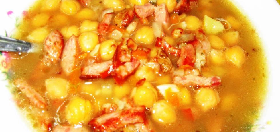 Zupa z grochu włoskiego na wędzonce (autor: yvonne ...