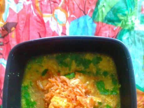 Przepis  indyjska słoneczna zupa z kurczakiem przepis