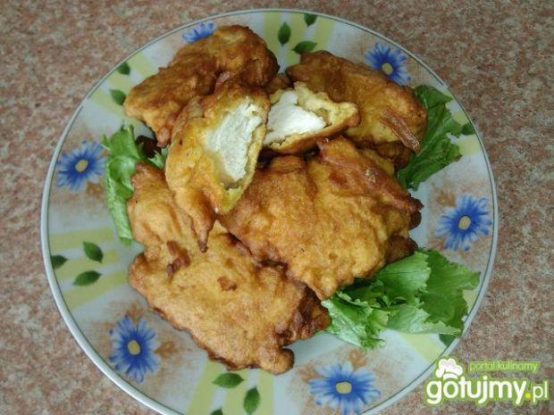 Przepis  nuggetsy z kurczaka w ostrym cieście przepis