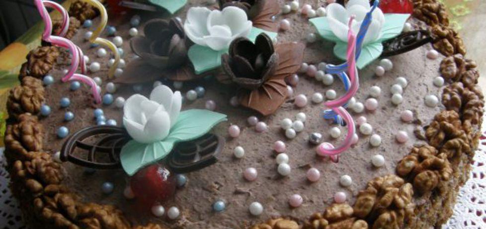 Tort orzechowo  kawowy (autor: ewelina38)