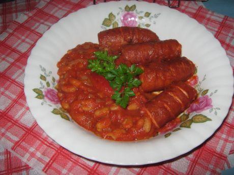 Przepis  kiełbaska w pomidorowo