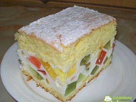 Przepis  ciasto dyskoteka przepis