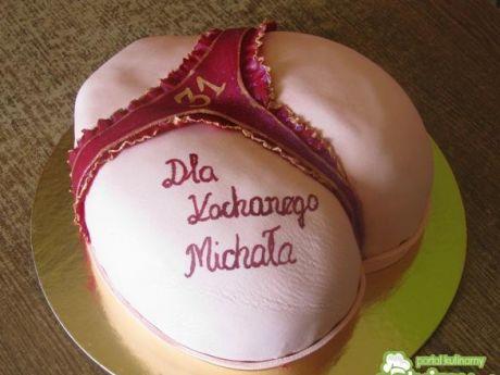 Przepis  tort dla mężczyzny przepis