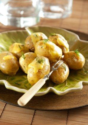 Młode ziemniaki z prowansalskim sosem aioli
