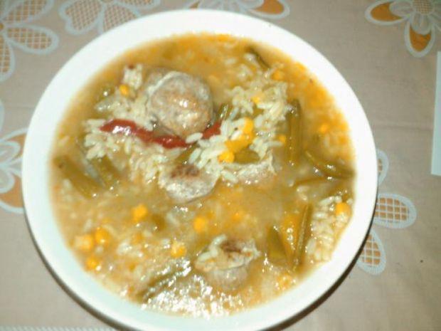 Przepis  zupa hiszpanska z kukurydza przepis