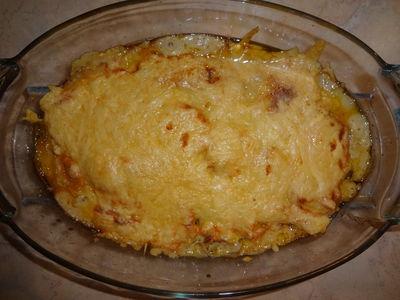 Zapiekanka z mielonym i ziemniakami