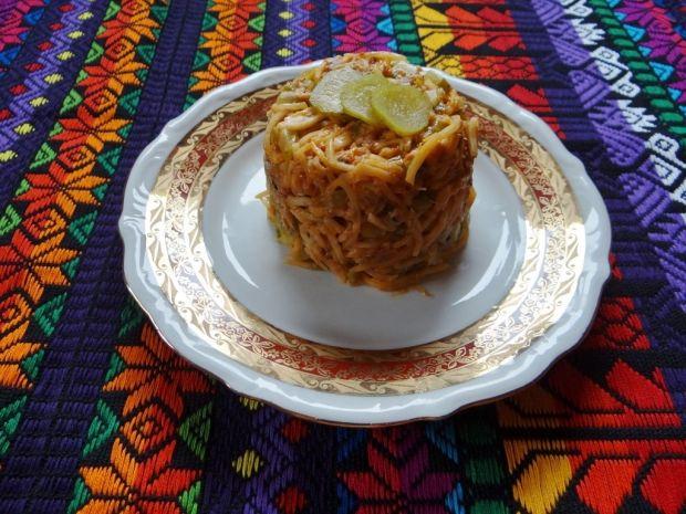 Przepis  sałatka z filetem z makreli przepis