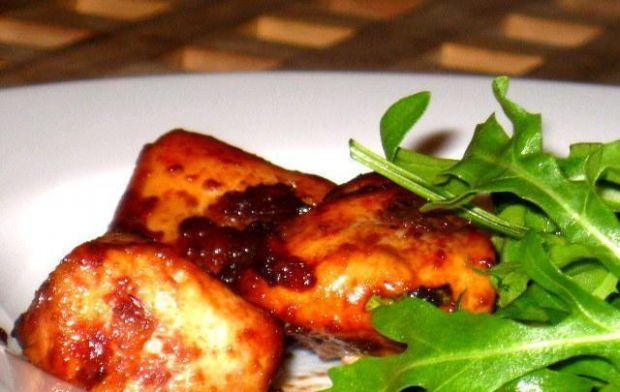 Przepis  pierś z kurczaka pieczona w żurawinie przepis