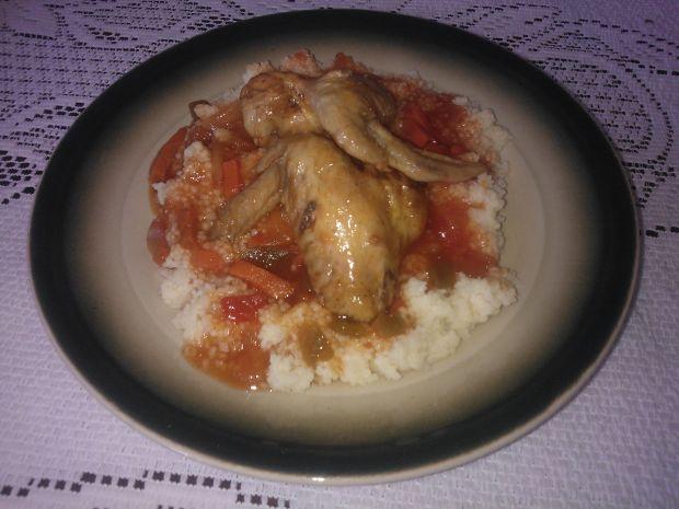 Przepis  skrzydełka z kurczaka w sosie słodko
