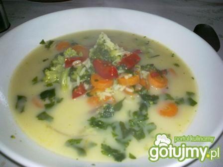 Przepis  zupa jarzynowa z ryżem przepis