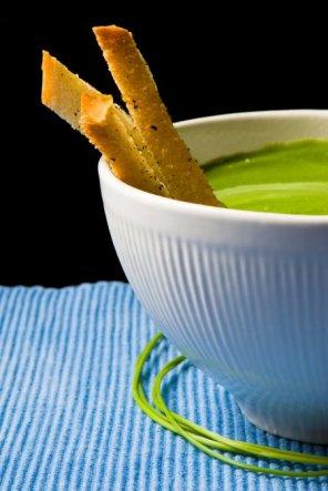 Zupa-krem z brokułów  prosty przepis i składniki