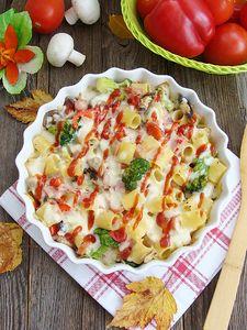 Zapiekanka makaronowa z mozzarellą