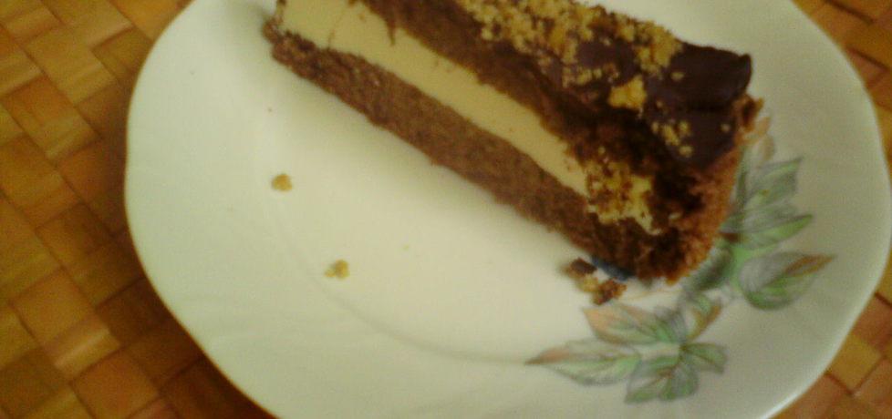 Orzechowe ciasto z kremem jogurtowym (autor: kasienka23 ...