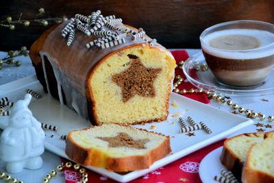 Ciasto z korzenną gwiazdką