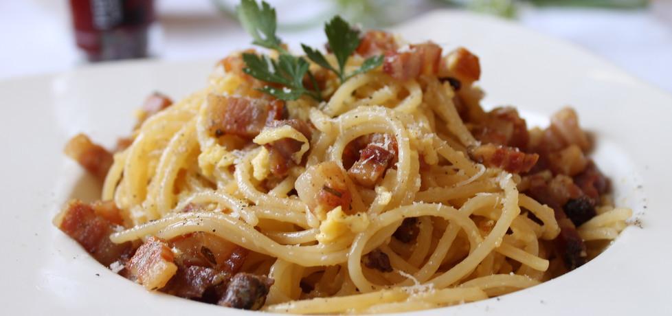 Spaghetti alla carbonara (autor: iwonadd)