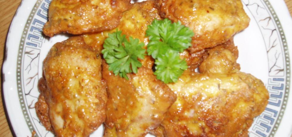 Kąski z piersi kurczaka w panierce ziemniaczno