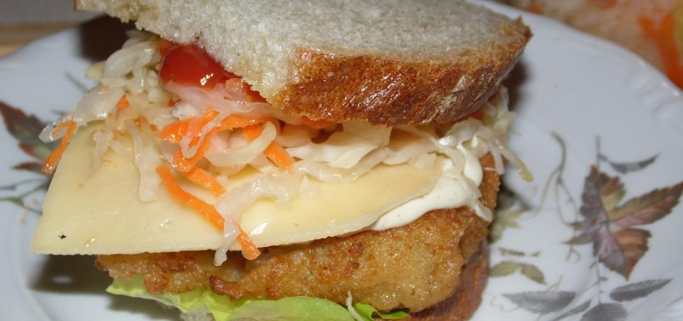 Fishburger w chlebie (autor: anka1988)