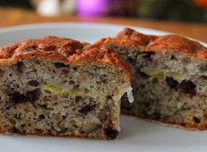 Muffiny bananowo-czekoladowe  prosty przepis i składniki
