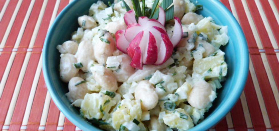 Sałatka z ziemniaków i fasoli (autor: renatazet)