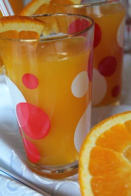 Przepis  domowy napój pomarańczowy przepis