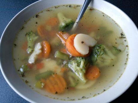 Przepis  zupa warzywna lekka przepis