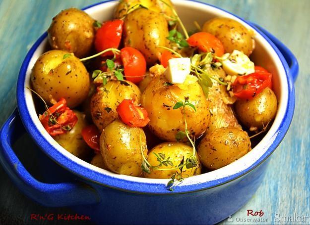 Pieczone ziemniaczki potatki