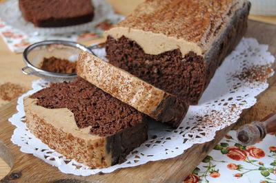 Fasolowe ciasto bez mąki, tłuszczu i cukru