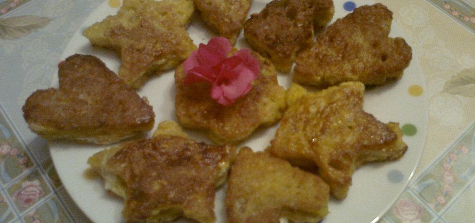 Mini tosty z czerstwego chleba (autor: katarzyna59 ...