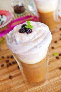Kawa mrożona aroniowa