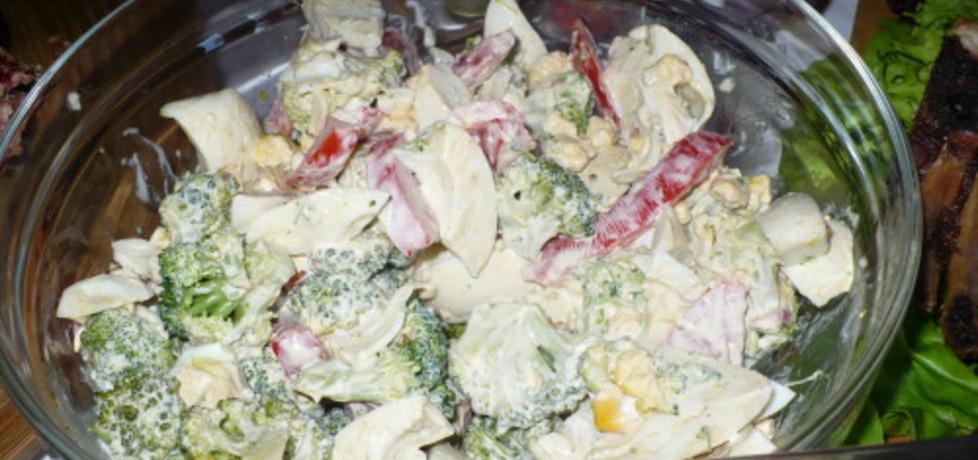 Sałatka brokułowa z jajkiem (autor: parysek10)